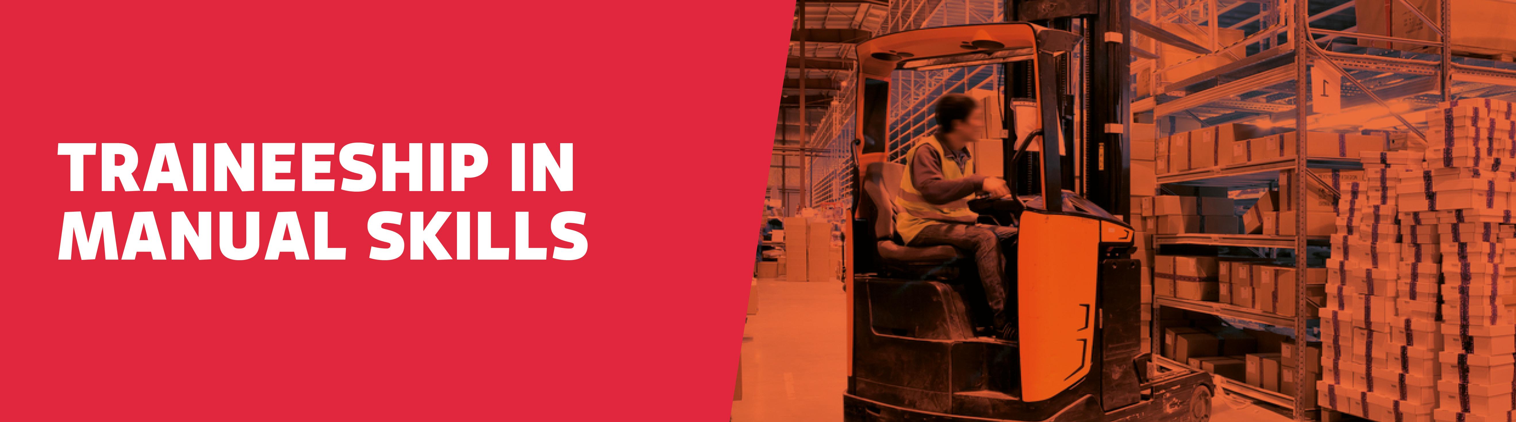 Construction - Manual skills website banner