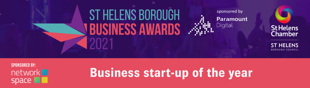Business Start Up of the Year at St Helens Borough Business Awards 2021
