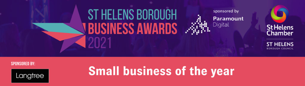 St Helens Borough Business Awards - Small Business of the Year 2021